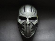 ColdBloodArt #5 airsoft paintball mask - Max Bullet