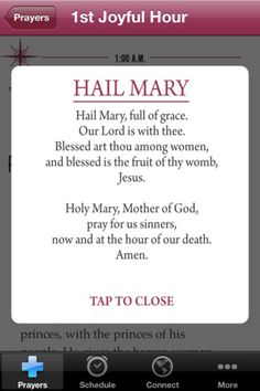The Rosary of the Hours iPhone App