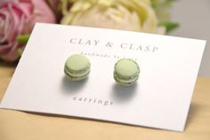 Hey, I found this really awesome Etsy listing at https://www.etsy.com/listing/108994897/macaron-earrings-beautiful-handmade