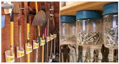 Image illustrant l'article 19 astuces pour garder votre garage organisé et bien rangé...