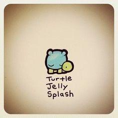 Cute Turtle Drawings, Turtle Sketch, Animal Drawings, Cool Drawings, Cute Turtles, Baby Turtles, Sea Turtle Pictures, Kawaii Turtle, Cartoon Turtle