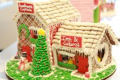 2nd place winner - Amiee Deitz  Gingerbread Scholarship Competition