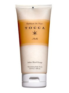 Buff it out  This blissfully fragrant scrub is infused with moisturizing oils to net you seriously smooth skin. Tocca Esfoliante da Corpo in Stella, $32        Read more: Spring Makeup Trends 2013 - Glowing Makeup and Beauty Products