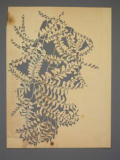 Paper stencil by Dorothy Marshall Hornblower | 1905 or earlier | Met Museum of Art