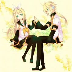 Rin and Len future style