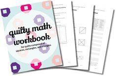 Quilty Math Workbook — Carrie Actually by Carrie Merrell