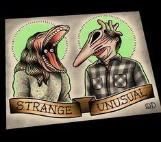 Personalized Strange and Unusual Art Print