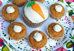 Healthy Carrot Cake - Low Carb and Gluten-Free