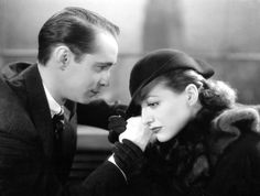 1934 film still from 'Sadie McKee' with Franchot Tone.