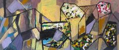 Maison de ventes aux enchères en ligne Catawiki: Beltran Pierre-Yves - Abstraction toits fleuris