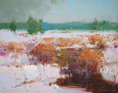 Landscape, Original oil Painting, Spring time, Impressionism, One of a Kind