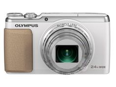 Olympus Stylus SH-50 iHS Digital Camera with 24x Optical Zoom and 3-Inch LCD (White) by Olympus. $299.00. From the Manufacturer                          DEMAND MORE CONTROL THE WORLD'S FIRST 3-AXIS IMAGE STABILIZATION AND 5-AXIS VIDEO STABILIZATION* With spectacular image quality and advanced video recording features, the SH-50 iHS is the only thing you'll need to capture truly amazing stills and videos. Equipped with a 24x wide-angle optical zoom lens (25-600mm equivalent),...