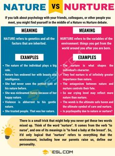 If you talk about psychology with your friends, colleagues, or other people you meet, you might find yourself in the middle of a Nature vs Nu Learn English Grammar, English Writing Skills, English Vocabulary Words, Learn English Words, Learning English, Writing Tips, Thinking Skills, Critical Thinking, Psychology Studies