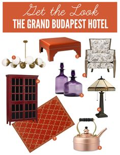 Get the Look The Grand Budapest Hotel with our aubergine Morgan Canisters. Traditional House, Traditional Design, Grand Budapest Hotel, Modern Cottage, Celebrity Houses, Elle Decor, Beautiful Homes, House Beautiful, Home Decor Accessories