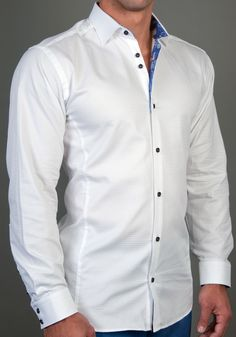 Black mens designer shirt - JFK 970. #fashion #StoneRose #clothing ...