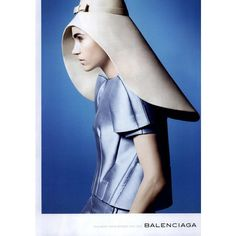 Balenciaga Ad Campaign Spring/Summer 2008 Shot #9 - MyFDB found on Polyvore featuring ad campaign