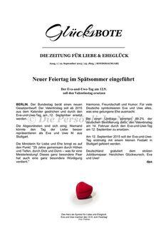 Gastgeschenke - Druck/Print: Hochzeitstag = Feiertag! - originelle Geschenkidee zum Hochzeitstag - ein Designerstück von DiePersoenlicheNote bei DaWanda