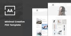 AA - Minimal Creative Portfolio PSD Template - Portfolio Creative Download here : https://themeforest.net/item/aa-minimal-creative-portfolio-psd-template/19529771?s_rank=60&ref=Al-fatih