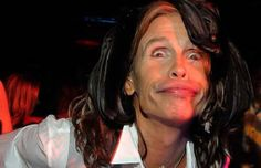 Anyone ever notice how many weird faces Steve Tyler makes?