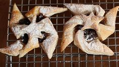 Maple glazed mince pie stars - delicious