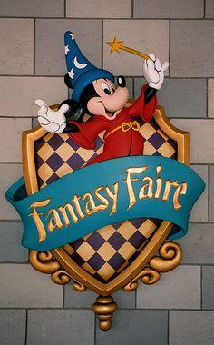 Fantasyland, Magic Kingdom, Walt Disney World, Florida