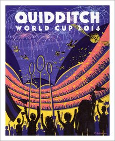 """Q"" is for Quidditch  #literacymonth @halfpricebooks"