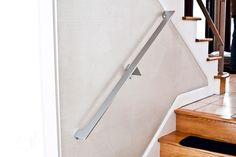 modern custom metal handrail