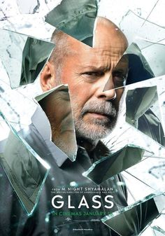 High resolution official theatrical movie poster ( of for Glass Image dimensions: 770 x Directed by M. Starring Bruce Willis, James McAvoy, Samuel L. Great Movies, New Movies, Movies To Watch, Movies Online, Movies And Tv Shows, Film Watch, Latest Movies, Bruce Willis, James Mcavoy