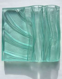 Low relief cast glass panel   -   2011   -   Helen Smith    -   https://www.flickr.com/photos/hmsdesign/5582384085/in/set-72157626289603733   -    -    http://thiscraftinglife.blogspot.com/2011/04/decision.html