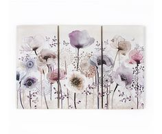 Buy a used Graham and Brown Classic Poppy Trio Wall Art. ✅Compare prices by UK Leading retailers that sells ⭐Used Graham and Brown Classic Poppy Trio Wall Art for cheap prices. Purple Wall Art, Purple Walls, Bird Prints, Floral Prints, Art Mural Floral, Canvas Wall Art, Canvas Prints, Home Wall Art, My New Room