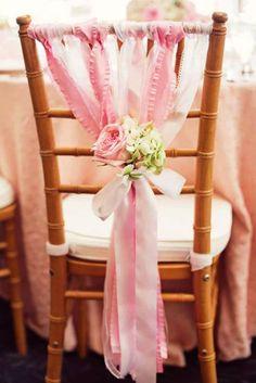 Little Birdie Shabby Chic Baby Shower Wedding Chair Decorations, Wedding Chairs, Bridal Shower Decorations, Diy Party Decorations, Bodas Shabby Chic, Shabby Chic Wedding Decor, Estilo Shabby Chic, Decor Wedding, Baby Shower Elegante
