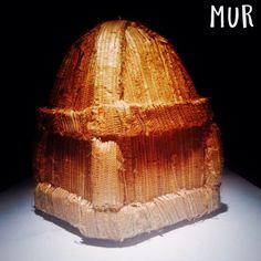 Custom MUR Bamboo Conical Dome Energy Pyramid. One of a kind piece. See more energy art at http://murmeditationpyramids.com #sculpture #art #artsy #energyart #murs #instaart #abstractart #garthharvey #meditationart #pyramid #bambooart #headyart