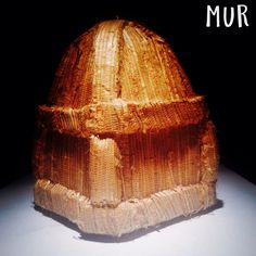 Custom MUR Bamboo Conical Dome Energy Pyramid. One of a kind piece. See more energy art at http://murmeditationpyramids.com #sculpture #art #artsy #energyart #murs #instaart #abstractart #garthharvey #meditationart #pyramid #bambooart #headyart
