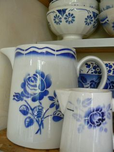 Vintage? French airbrushed ceramics