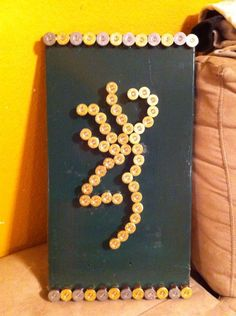 made from shotgun shell tips....