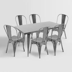 One of my favorite discoveries at WorldMarket com  Talise Dining Table and  Chairs CollectionSafavieh Ludlow Ash Grey Square Dining Table by Safavieh   Square  . Safavieh Ludlow Dining Table. Home Design Ideas
