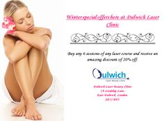 Dulwich Laser Beauty Clinic Special Offers