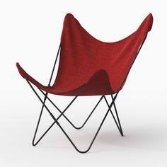 3dmodel Canvas Butterfly Chair | 3d Models For Architecture Gallery