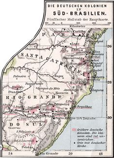 German colonies in Southern Brazil