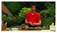 Recept voor lamskroontje met een duo van tomaat | njam!