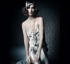 20's inspired looks are back, running tandem with F. Scott Fitzgerald's iconic Great Gatsby