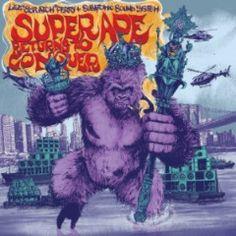Lee Scratch Perry & Subatomic Sound System Super Ape Returns to Conquer LP VI for sale online Reggae Festival, Festival Guide, Lee Perry, Dub Music, Concept Album, Lionel Richie, Funny Boy, Lp Vinyl, Vinyl Records