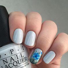 Cornflower Nails, polishpeach