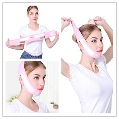 THE BEST SLIMMING STRAP, V-LINE FACE LIFT BANDAGE V Line Face, Face Lines, V Lines, V Shape Face, Neck Lift, Face Wrinkles, Face Massage, Clear Face, Double Chin