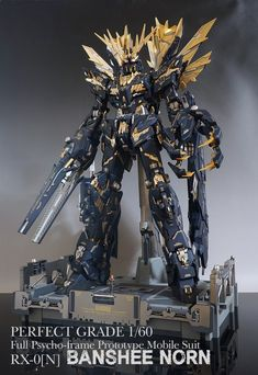 PG Banshee Norn - Customized Build Modeled by Dal-Ho Gundam Wallpapers, Gundam Mobile Suit, Frame Arms Girl, Unicorn Gundam, Gundam Custom Build, Cool Robots, Sci Fi Armor, Gundam Art, Gunpla Custom