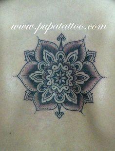 Tatuaje Mandala Pupa Tattoo Granada by Marzia PUPA Tattoo, via Flickr