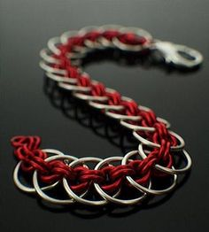 Kit - Bracelet - Grand Chainmail Bracelet Kit - Complicated Circles In YOUR Pick Of Colors