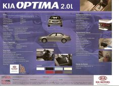Kia Optima Brochure 2008 2