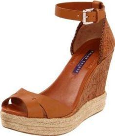 Ralph Lauren Collection Women\'s Firita Wedge Sandal