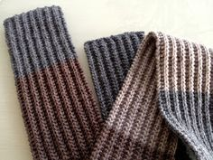 never odd or even: Knit a scarf